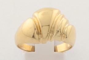 Дамски пръстен от жълто злато DD0180