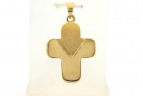 Златен кръст от жълто злато VKN0064