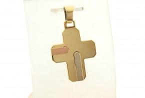 Златен кръст от жълто злато VKN0062