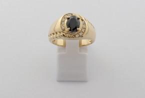 Мъжки пръстен от жълто злато  MD0076