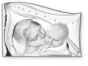 21115 Св.Богородица с младенец   тип вълна 5Х7 см