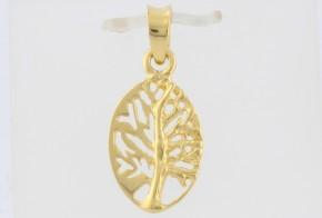 Златна висулка от жълто злато V0088