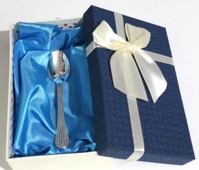 Десертна лъжичка от сребро 925 проба L0032