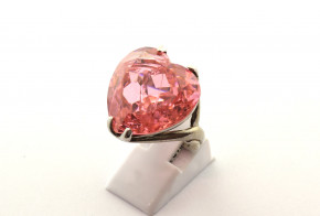Дамски сребърен пръстен  с циркони SD0171