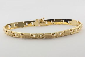 Златна гривна от жълто златo GR0144