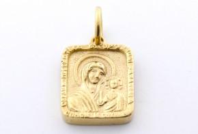 Златна висулка от   жълто злато  V0027