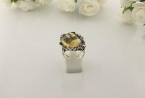 Дамски сребърен пръстен с косите на Венера SD03