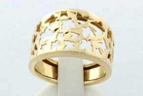 Дамски пръстен от жълто злато  DD0002