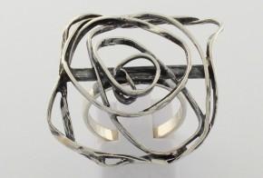 Дамски сребърен пръстен SD0044