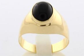 Мъжки пръстен от жълто злато MD0029