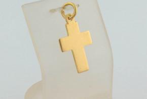 Златен кръст от жълто злато VKN0058
