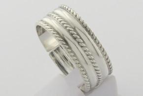 Мъжки сребърен пръстен SM0080