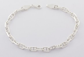 Сребърна гривна SGR0047