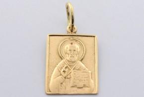 Златна висулка от   жълто злато  V0039