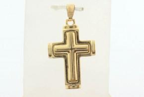 Златен кръст от жълто злато VKN0069