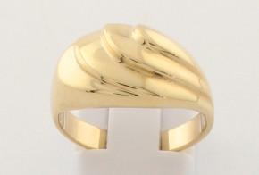 Дамски пръстен от жълто злато DD0181