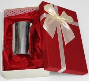 Сребърна чаша за вода с възможност за гравиране на име и/или дата CS0009