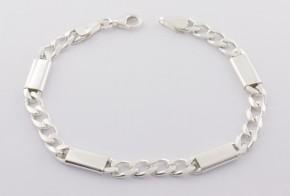 Сребърна гривна SGR0044