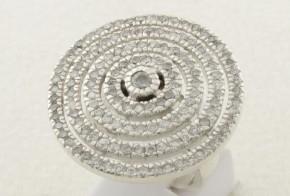 Дамски сребърен пръстен с циркони SD0088