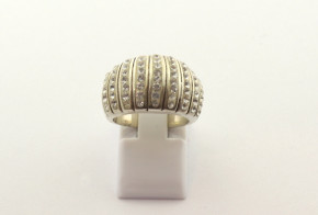 Дамски сребърен пръстен  с циркони SD0172