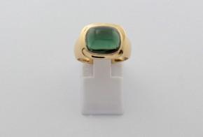 Мъжки пръстен от жълто злато  MD0077