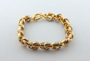 Златна  гривна от жълто злато GR0171