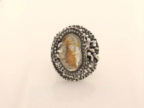 Дамски сребърен пръстен с косите на Венера  SD0001