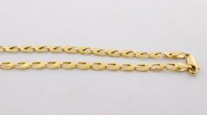 Златен синджир от  жълто злато  С0046 - ширина 4 мм., дължина 47 см.