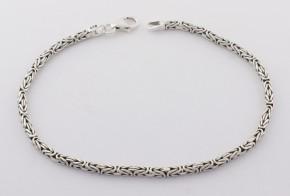 Сребърна гривна SGR0050