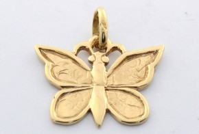 Златна висулка от   жълто злато  V0018