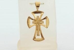 Златен кръст от жълто злато VKN0061