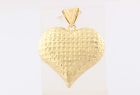 Златна висулка от жълто злато V0151