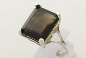Дамски сребърен пръстен с циркон SD0080