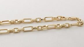Златен мъжки синджир от жълто злато C0003V