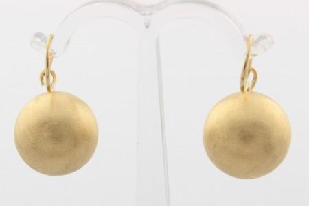 Дамски обеци от жълто злато  - 5,93 грама