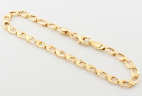 Златна гривна от жълто златo GR0148