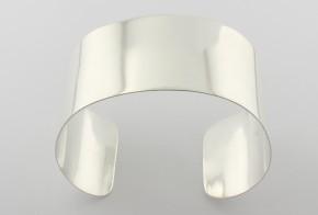 Сребърна твърда гривна SGR0004
