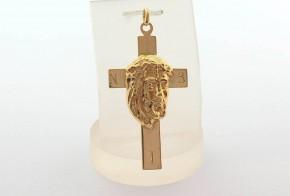 Златен кръст от жълто злато VKN0073