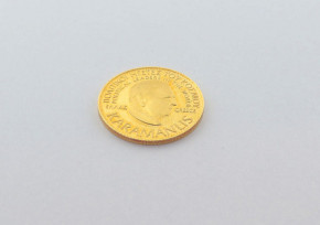 Позлатена сребърна гръцка монета CSD0044