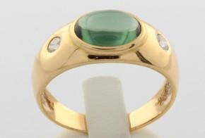 Мъжки пръстен от жълто злато MD0039