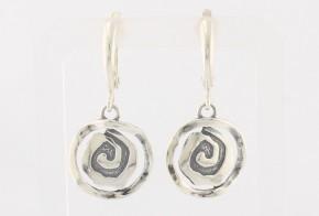 Сребърни обеци SO0095