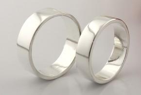 Брачни халки от сребро BH0271