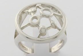 Дамски сребърен пръстен SD0034