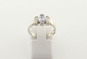 Дамски сребърен пръстен   SD0157