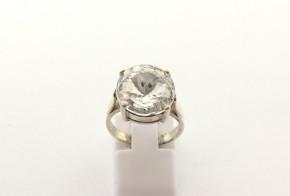 Дамски сребърен пръстен  с циркони SD0175