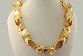 Златен синджир от жълто злато C0160