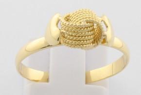 Дамски пръстен от жълто злато DD0135