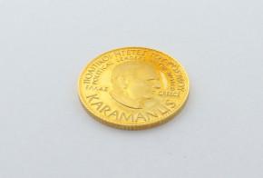 Позлатена сребърна гръцка монета CSD0045