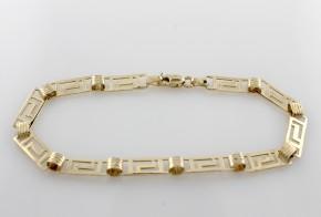 Златна гривна от жълто злато GR0051