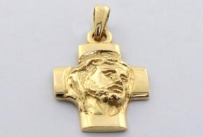 Златен кръст от  жълто злато VK0051